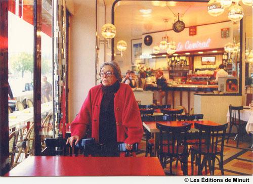 Marguerite Duras au Café Central, Trouville