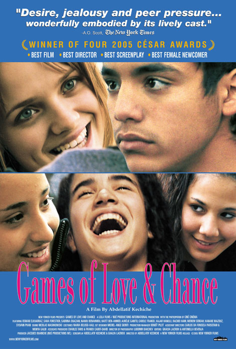 film multicésarisé réalisé par Abdellatif Kechiche en 2004 - Le titre provient d'une réplique de Arlequin dans Jeu de l'amour et du hasard de Marivaux, à l'acte III, scène 6 - cliquer sur l'image pour l'agrandir