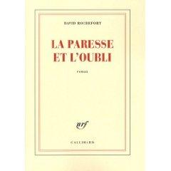 David Rochefort a vingt-neuf ans et vit à Paris. La paresse et l'oubli est son premier roman.