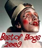 Pour la troisième année, pour bien finir, voici le Best Of de la BlogoBulle 2009... le meilleur des blogs sur lesquels je passe régulièrement, mais pas seulement... des découvertes aussi... La Blogdiversité !