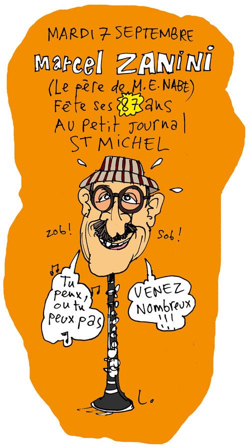 dessin de Laurent Lolmède