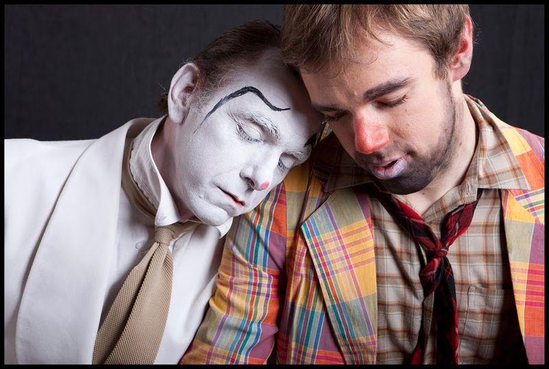 photos de clowns de (c) Christophe Esnaul à l'occasion du Festival Radicalement Indescriptible de Clowns - FRIC, mai 2010