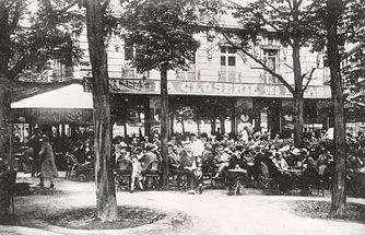 La Closerie des Lilas, boulevard du Montparnasse, Paris