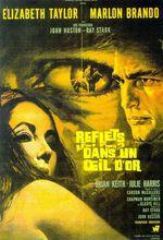 Reflets dans un œil d'or (Reflections in a Golden Eye) est un film américain réalisé par John Huston, sorti en 1967, adapté du roman éponyme paru en 1941 de Carson McCullers