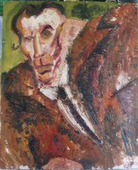 peinture de Marc-Edouard Nabe (c)