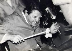 Rene Giner, batteur d'orchestre de bal, Montpellier 1966 (google images)