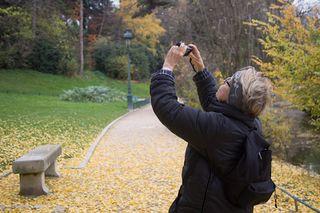 Photo balade au Parc Montsouris, photo de MaO de Paris, novembre 2012