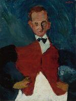 """Chaïm Soutine (1893-1943), l'ordre du chaos — Cette rétrospective est organisée à partir de vingt-deux tableaux de Soutine conservés par le musée de l'Orangerie. Ceux-ci avaient été réunis par le marchand Paul Guillaume qui, découvrant en 1922 ces """"portraits où la mesure et la démence luttent et s'équilibrent"""", fit connaître un artiste à la puissance expressionniste et à la palette ardente uniques dans le Paris de l'entre-deux-guerres. Au-delà de la légende du peintre tourmenté, qui finit par occulter un oeuvre exacerbé, hors normes, l'influence que Soutine eut sur les artistes de la fin du XXe siècle nécessite un nouveau regard sur un peintre totalement original, difficile à appréhender, encore incompris en France. L'exposition réunira les oeuvres de Soutine passées entre les mains de Paul Guillaume et des oeuvres d'autres artistes. Elle se déroulera à la fois chronologiquement et thématiquement, en référence à la pratique par Soutine des séries."""