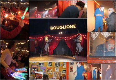 [photos de moi, clic sur l'image pour agrandir] Pierre Etaix, 84 ans, est le clown Yoyo sur la piste du cirque familial Joseph Bouglione à l'occasion des fêtes de fin d'année 2012