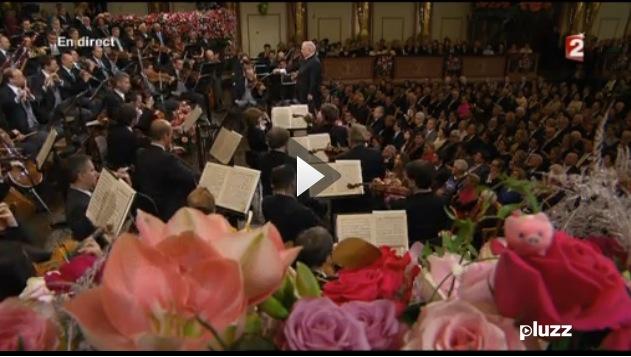 à 9:39mn sur le replay de la deuxième partie du concert du nouvel an à Vienne, 1er janvier 2014, direction Daniel Barenboïm