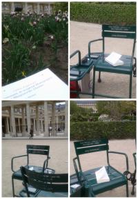 conversations (sièges pour les) poétiques au Palais Royal