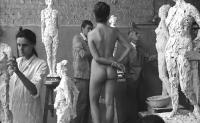 Dorothée Blanck (de dos) dans Cléo de 5 à 7 d'Agnès Varda, 1962