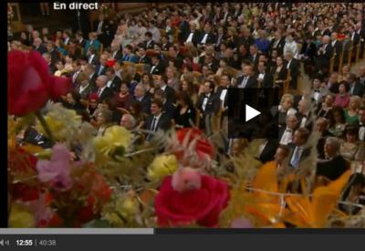 à 12:55 sur la video de la première partie du Concert du Nouvel An 2015 à Vienne
