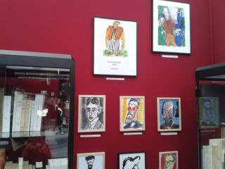 stand de la Librairie Eric Fosse au Salon du Livre Rare