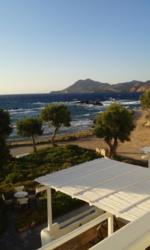 vue depuis ma chambre au Nefeli Sunset, Milos, Cyclades. (c) tilly / smartphone