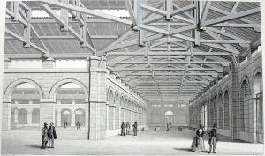 Marché Saint-Germain (de Blondel) en 1834