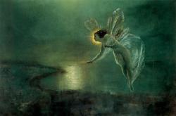 Spirit of the Night de John Atkinson Grimshaw, 1879 (source wikimedia)