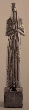 """Chana Orloff — VIerge (Jeanne Hebuterne) ; extrait de la brochure """"A la rencontre de Chana Orloff"""" droits de reproduction réservés"""