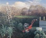 """""""The Ladder to the Moon, Spring Equinox"""", peinture de James Lynch, www.james-lynch.co.uk  — mon amie Kate, sa femme, est aussi peintre et également talentueuse : www.katelynch.co.uk"""